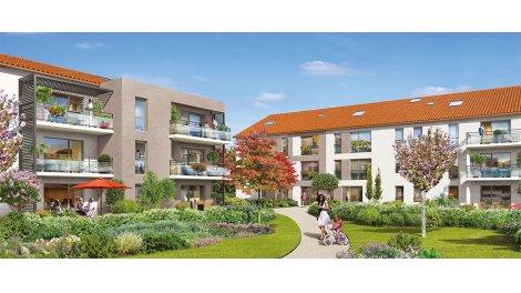 Appartement neuf Jardin Saint-Roch investissement loi Pinel à Francheville