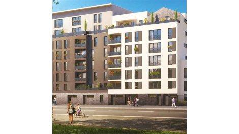 Appartement neuf Sweet Garden investissement loi Pinel à Bobigny