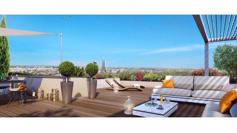Appartement neuf L'Orangerie investissement loi Pinel à Caluire-et-Cuire