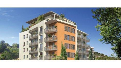 Appartement neuf Val Cosy investissement loi Pinel à Cagnes-sur-Mer
