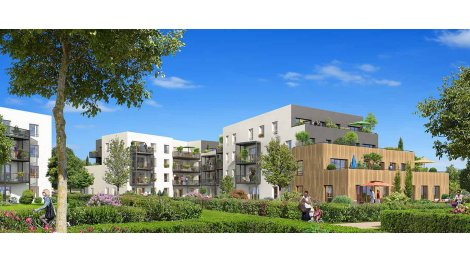 Appartement neuf Green Lodge II - Appartements investissement loi Pinel à Villepreux