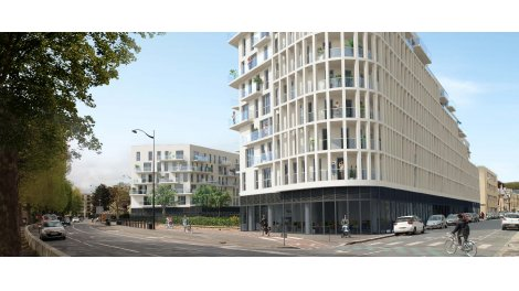 Appartement neuf Panoramik investissement loi Pinel à Caen