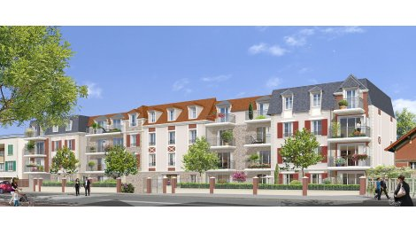 Appartement neuf Esprit Mansart investissement loi Pinel à Villiers-sur-Marne