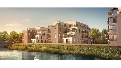 Appartement neuf Quai Sud investissement loi Pinel à Bois-d'Arcy