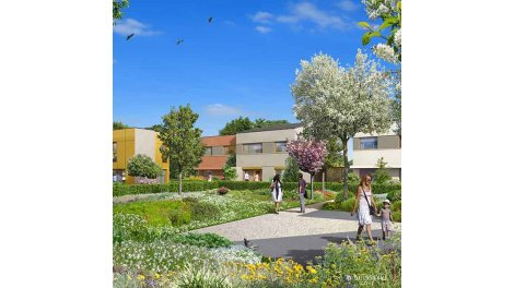 Appartements et maisons neuves Les Jardins des Cerisiers investissement loi Pinel à Bussy-Saint-Georges