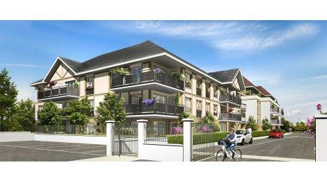 Appartement neuf Le Domaine des Longs Prés investissement loi Pinel à Saint-Germain-Lès-Arpajon