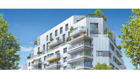 Appartement neuf Terrasses 105 investissement loi Pinel à Issy-les-Moulineaux