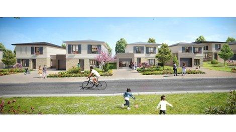 Maisons neuves Le Domaine de Flore investissement loi Pinel à Elancourt