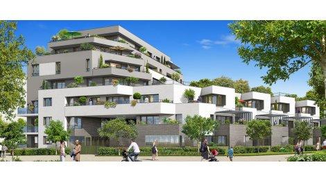 Appartement neuf Le Domaine de l'Arche investissement loi Pinel à Achères