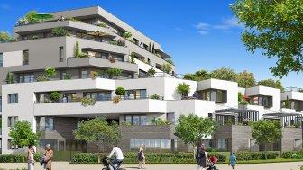 Appartements neufs Le Domaine de l'Arche investissement loi Pinel à Achères