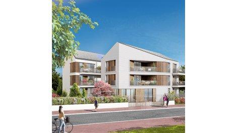 Appartements et maisons neuves Les Jardins de l'Ile Côté Rives de Seine à Nanterre