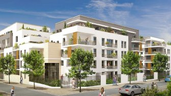Appartements neufs Le Jardin d'Héloïse investissement loi Pinel à Meaux