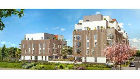 Appartement neuf Les Rives du Parc investissement loi Pinel à Fleury-sur-Orne