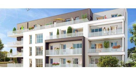 Appartement neuf Le Contemporain investissement loi Pinel à Caen