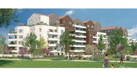 Appartement neuf Les Apparts Côté Parc investissement loi Pinel à Neuilly-sur-Marne