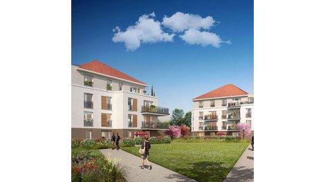 Appartement neuf Les Jardins des Retentis II investissement loi Pinel à Jouy-le-Moutier