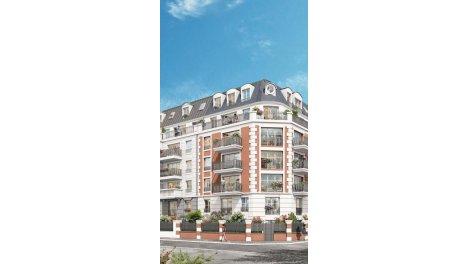 Appartement neuf Parenthèse Citadine investissement loi Pinel à Gagny