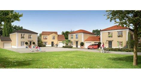 Maisons neuves Domaine des Chanterelles à Bruyères-sur-Oise