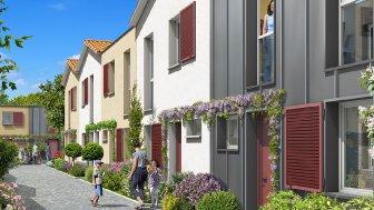 Maisons neuves Cour St Pierre à Toulouse