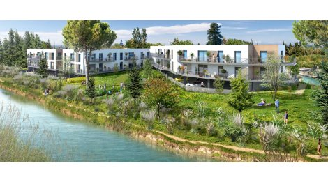 Appartement neuf Le Mas St Louis investissement loi Pinel à Aigues-Mortes