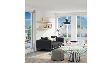 Appartement neuf Cap Village investissement loi Pinel à Vaulx-en-Velin