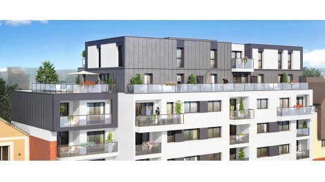 Appartement neuf Art & Lettres investissement loi Pinel à Rennes