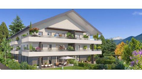 Appartement neuf Villa Saint-Laurent investissement loi Pinel à Annecy-le-Vieux