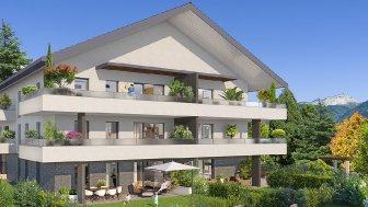 Appartements neufs Villa Saint-Laurent investissement loi Pinel à Annecy-le-Vieux