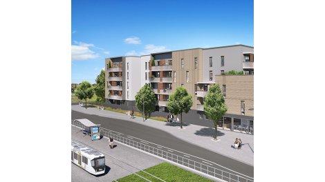 Appartement neuf Esprit Vence investissement loi Pinel à Saint-Egrève