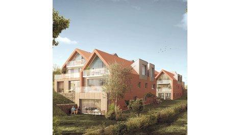 Appartements neufs Les Chalets investissement loi Pinel à Sainte-Adresse