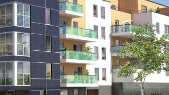 Appartements neufs Patio Tereo II investissement loi Pinel à Angers