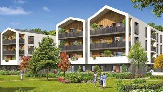 Appartements neufs Domaines des Dryades investissement loi Pinel à Anglet