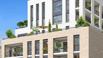 Appartements neufs La Cour Ségur investissement loi Pinel à Bordeaux
