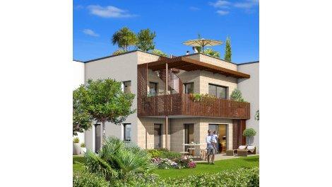 Appartement neuf Le Domaine de Flore investissement loi Pinel à Villenave-d'Ornon