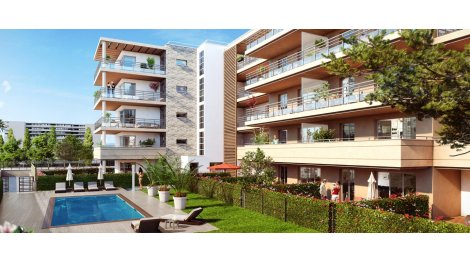 Appartement neuf Perle d'Azur à Antibes