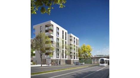 Appartement neuf Le Tweet investissement loi Pinel à Lyon 8ème