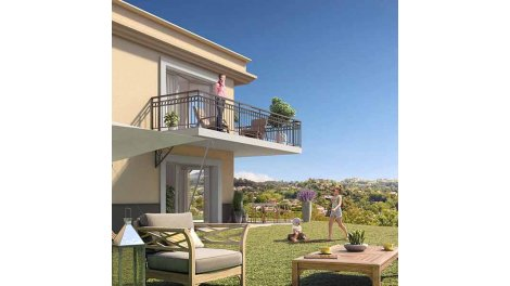 Appartement neuf Les Hauts Jardins investissement loi Pinel à La-Colle-sur-Loup