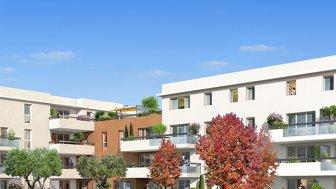 Appartements neufs La Palmira investissement loi Pinel à Marseille 12ème