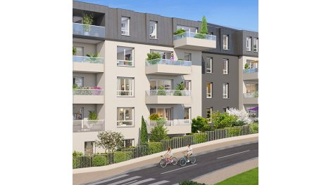 Appartement neuf Reflets Mansart investissement loi Pinel à Dijon