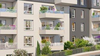 Appartements neufs Reflets Mansart investissement loi Pinel à Dijon