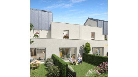 Appartements et maisons neuves Le Domaine Saint-Paul investissement loi Pinel à Caen