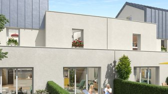 Appartements et maisons neuves Le Domaine Saint-Paul à Caen