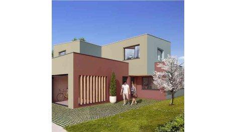 Maisons neuves Novaïa (maisons de Ville) investissement loi Pinel à Verson