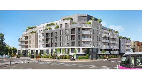 Appartement neuf Canal & Sens investissement loi Pinel à Dijon
