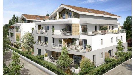 Appartement neuf Villa Séréna investissement loi Pinel à Prévessin-Moens