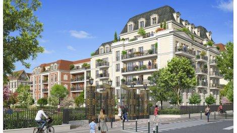 Appartement neuf Jardins des Orfèvres éco-habitat à Le Blanc Mesnil