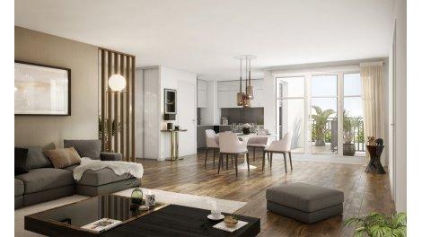 Appartement neuf Empreinte éco-habitat à La Garenne Colombes