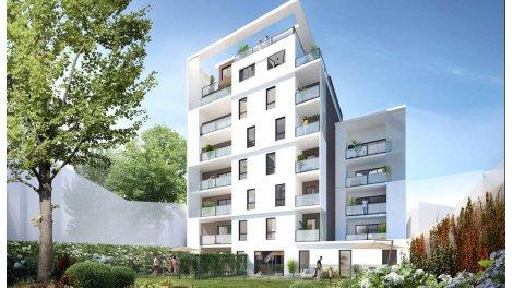 Appartement neuf Écrin Lumière investissement loi Pinel à Lyon 8ème