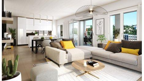 Appartement neuf Ydeal Confluence investissement loi Pinel à Lyon 2ème