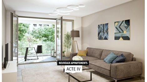 Appartement neuf Nouvelles Scènes investissement loi Pinel à Aix-en-Provence